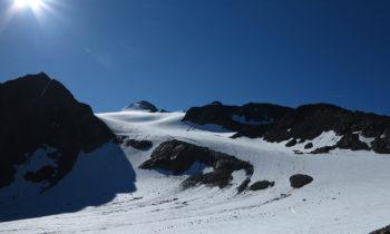 Alpenüberquerung: Bei der Similaunhütte