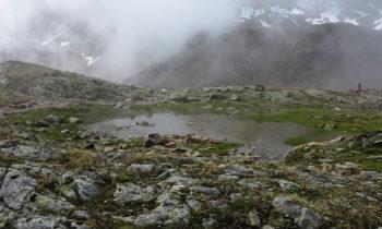 Elpenüberquerung: Weisskarsee