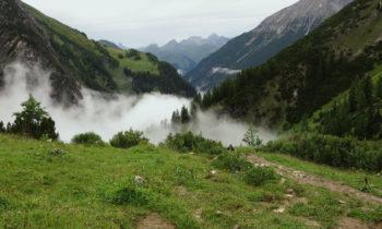 Aufstieg zur Memminger Hütte