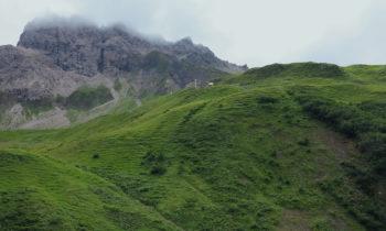 Alpenüberquerung: Kemptner Hütte