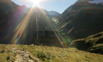 Alpenüberquerung: Martin-Busch-Hüette