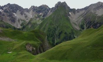 Alpenüberquerung: An der Memminger Hütte
