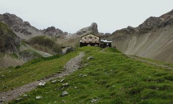 Alpenüberquerung: Memminger Hütte