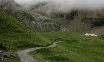 Bergsee an der Memminger Hütte