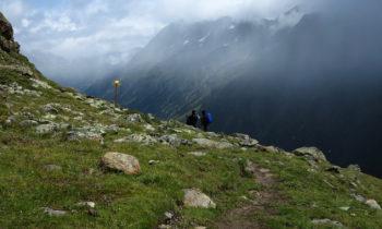 Auf dem Venter Panoramaweg nach der Braunschweiger Hütte