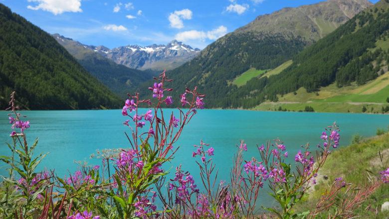 Vernagt-Stausee am Ende der Alpenüberquerung