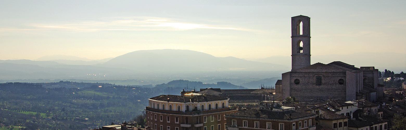 Sonnenaufgang in Perugia