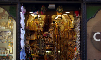 Souvenirshop in Assisi