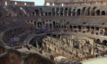 Im Inneren des Kolosseum