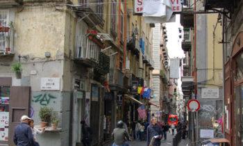 In den Gassen von Neapel