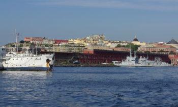 Der Hafen von Neapel