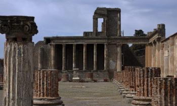 Tempel in Pompeji