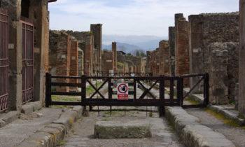 In den Straßen von Pompeji