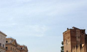 Radfahren in Rom