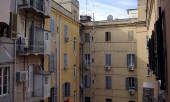 Typischer Hinterhof in Rom