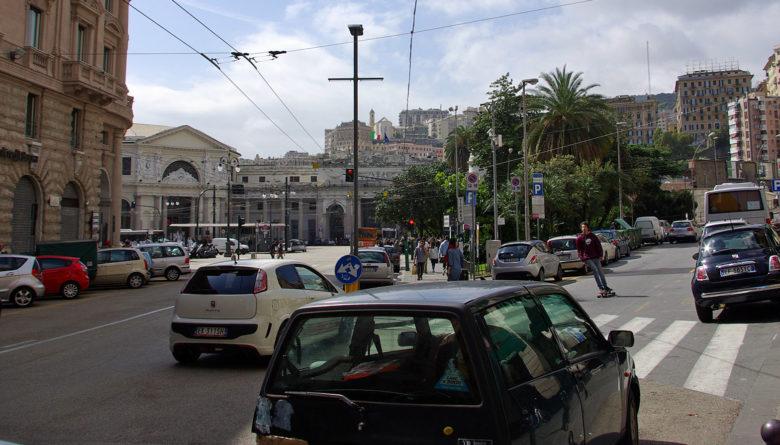 Bahnhof in Genua