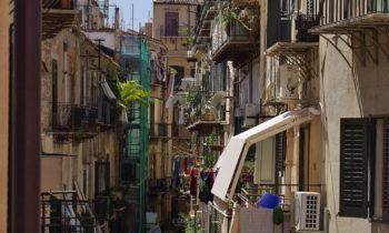 Gassen in Palermo