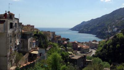Vor Salerno an der Amalfiküste