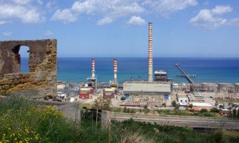 Kraftwerk auf Sizilien