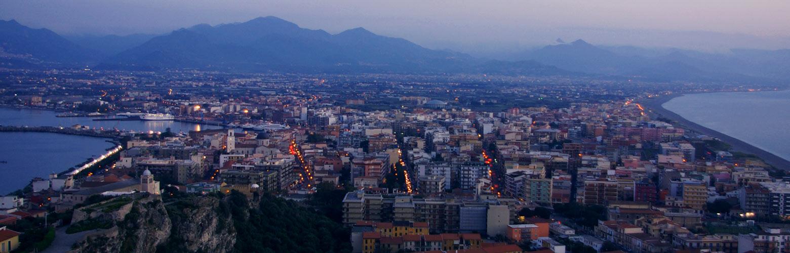 Sonnenuntergang in Milazzo