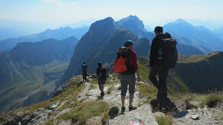 Auf dem Friedensweg in den Karnischen Alpen