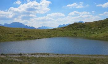 Bergsee auf dem Karnischen Höhenweg