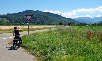 Südschwarzwald Radweg Etappe Weil am Rhein - Freiburg