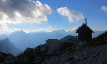 Prehodavcih Hütte, Slowenien
