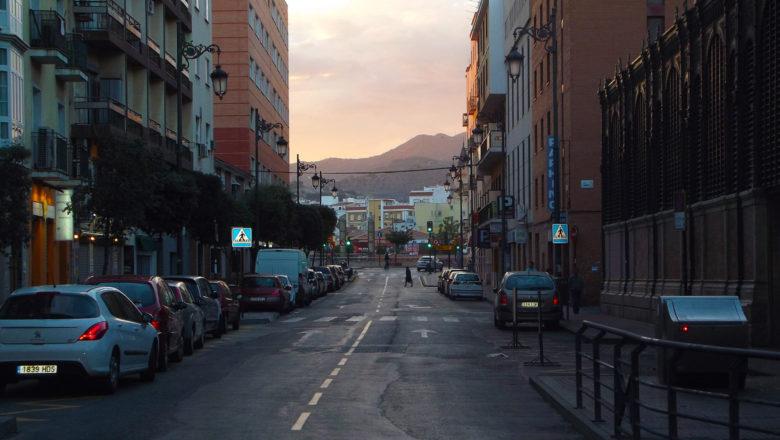 Abend in Málaga