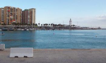Im Hafen von Málaga