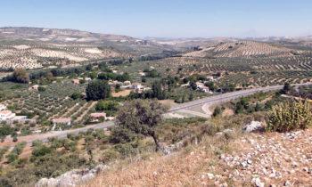 Auf einer Vía Verde in Andalusien