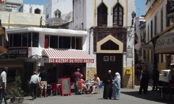 Petit Socco in der Medina von Tanger