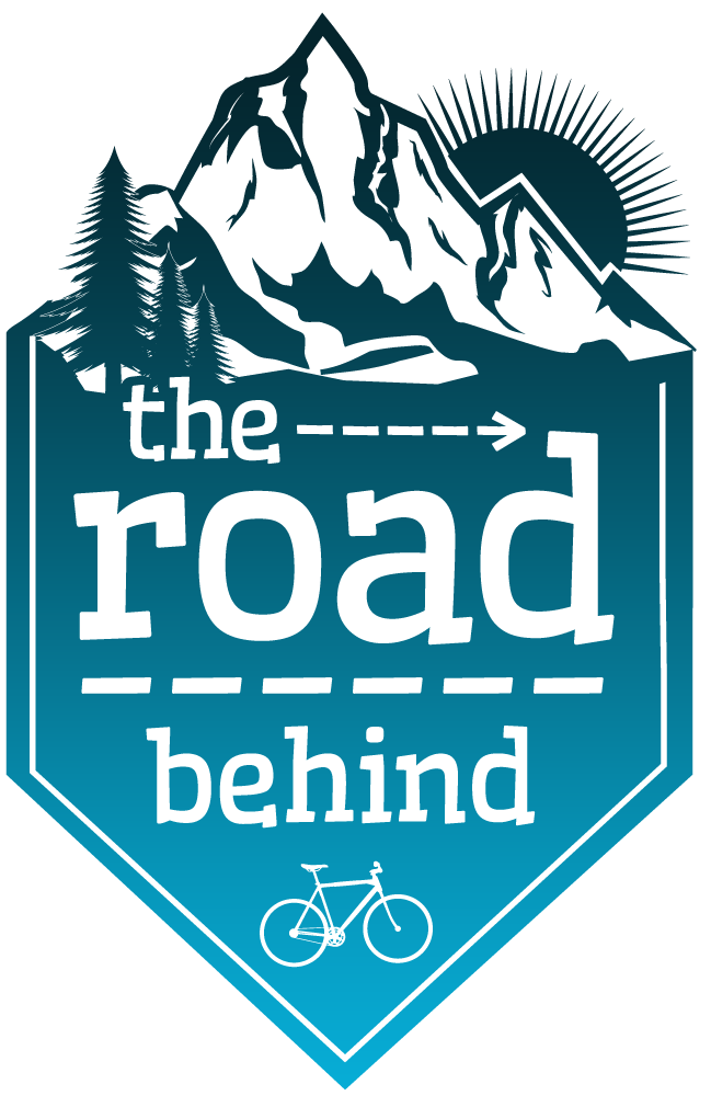 the road behind Bike & Hike Travel Blog