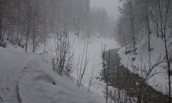 Die Partnach im Winter
