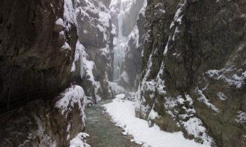Die Partnachklamm im Winter