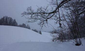 Winterlandschaft bei Garmisch-Partenkirchen