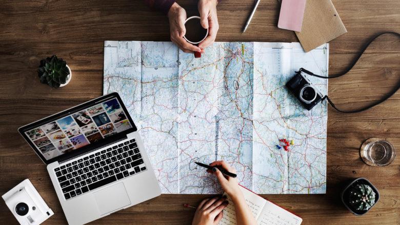 Online- & Offline-Routenplanung mit GPS und Karte