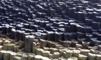 Felsstruktur auf Staffa