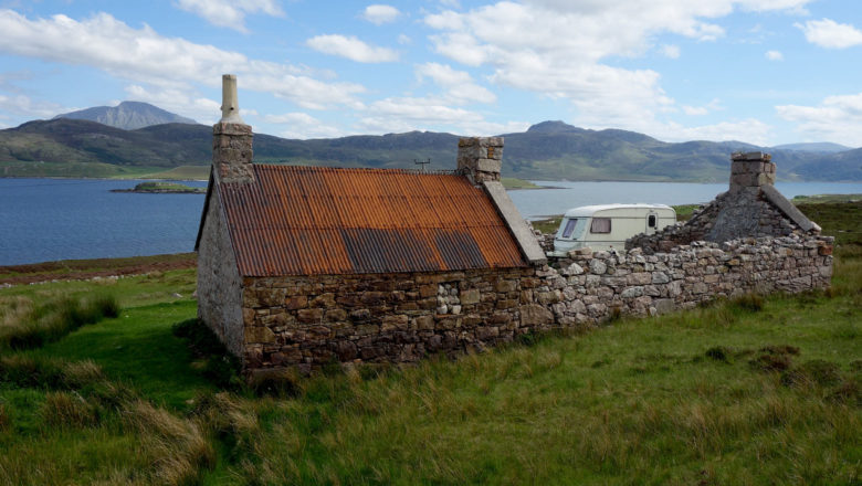 Loch Eriboll in den Highlands bei Durness