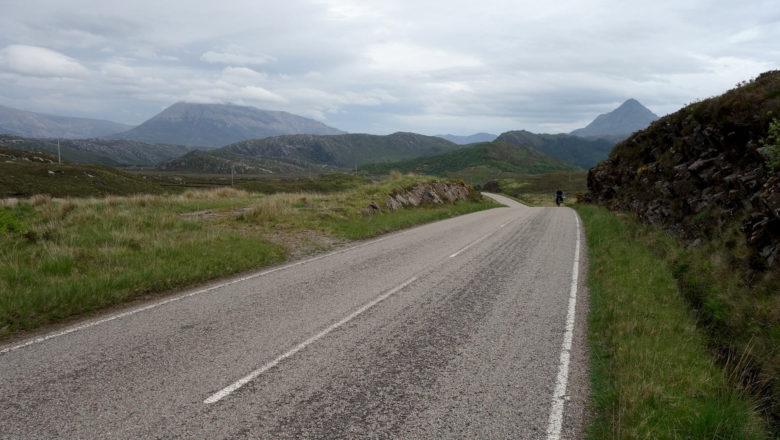 Mit dem Fahrrad in den schottischen Highlands
