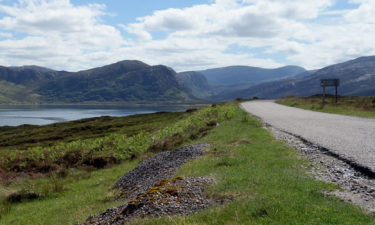 Radreise in den Highlands in Schottland
