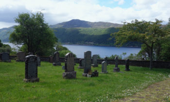 Boleskine Burial Ground Militärfriedhof am Loch Ness