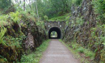 Auf dem Great Glen Cycleway Radweg