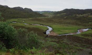 Fluss in Schottland