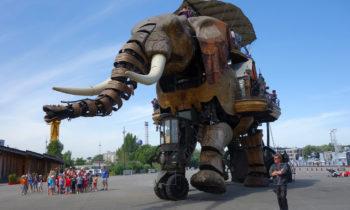 Steampunk Elefant bei Les Machines de l'île