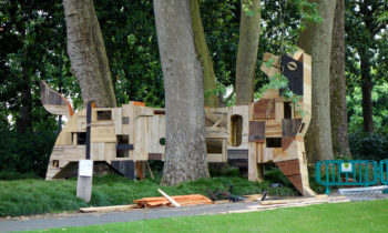 Skulptur im Jardin des Plantes