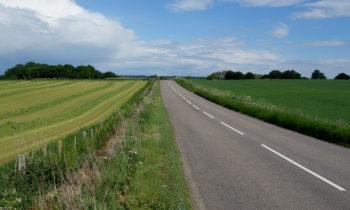 Landstraße bei Inverness
