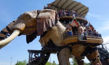 Elefant bei Les Machines de l'île