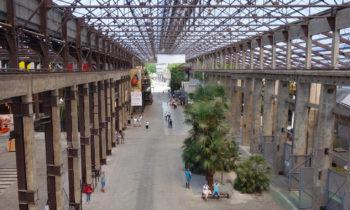 Werfthalle der Les Machines de l'île