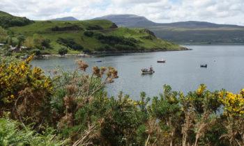 Boote auf dem Loch Eriboll